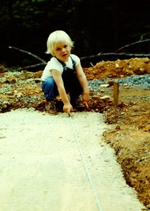 Phillip at 3 years old.